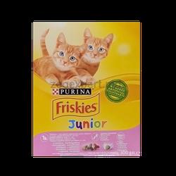 FRISKIES Junior cu pui, lapte si legume (300 gr)