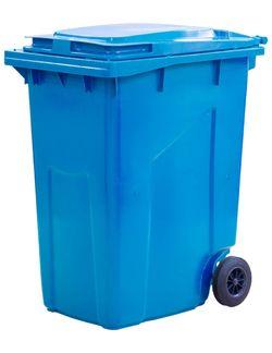 360L, Kонтейнеры для мусора, синий