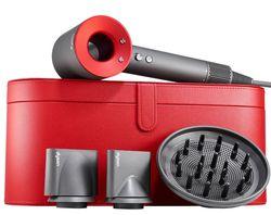 купить Фен Dyson HD01 Supersonic Red с красным чехлом в Кишинёве