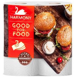 Prosoape hârtie Harmony Good-For-Food Ultra Absorbent 3 str. 16.5m*2