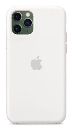 купить Чехол для смартфона Helmet iPhone 11 Pro White Liquid Silicone Case в Кишинёве