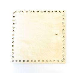 Formă din lemn pătrat, 20 cm
