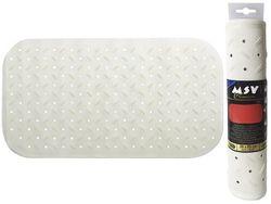 Коврик для ванны 36X65cm Class Premium белый, резиновый