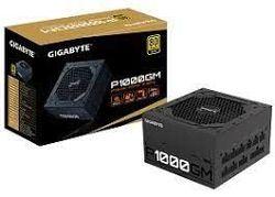 Блок питания ATX 1000 Вт GIGABYTE GP-P1000GM, 80+ Gold, полностью модульный, 120-мм вентилятор Smart