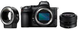 cumpără Aparat foto mirrorless Nikon Z 5 + 24-50 f/4-6.3 + FTZ în Chișinău