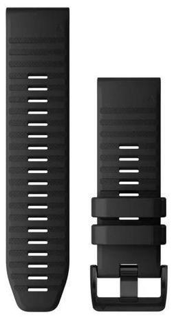 cumpără Accesoriu pentru aparat mobil Garmin QuickFit fenix 6X 26mm Black Silicone Band în Chișinău