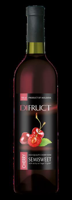Фруктовое вино DiFruct вишня, 0.75 л