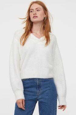 Трикотаж H&M Белый
