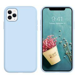 купить Чехол для смартфона Helmet iPhone 11 Pro Sea Blue Liquid Silicone Case в Кишинёве
