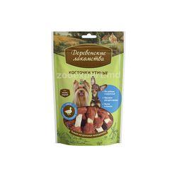 Деревенские лакомства - Лакомство для собак мини-пород: косточки утиные 55 gr