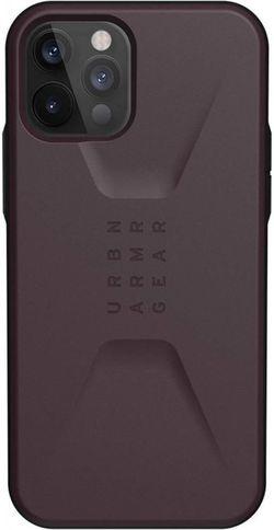 cumpără Husă pentru smartphone UAG iPhone 12 / 12 Pro Civilian Eggplant 11235D114949 în Chișinău