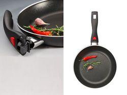 Сковорода Ballarini Click&Cook 24сm, съемные ручки
