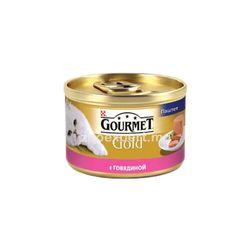 Gourmet Gold паштет с говядиной 85 gr