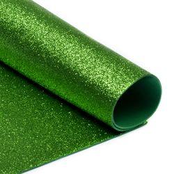 Foamiran cu sclipici Culoare: verde deschis, А4