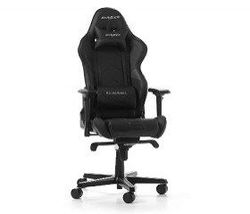 Gaming Chair DXRacer Racing GC-R131-N, Black/Black, User max loadt up to 150kg / height 165-195cm