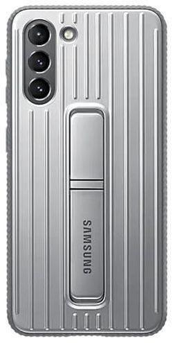 купить Чехол для смартфона Samsung EF-RG991 Protective Standing Cover Light Gray в Кишинёве