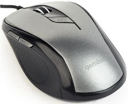купить Мышь Gembird MUS-6B-01-BG, Black/Grey в Кишинёве