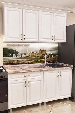 Кухонный гарнитур Bafimob Mini MDF 1.2m White