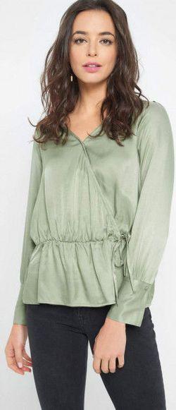 Блуза ORSAY Зеленый 662093 orsay
