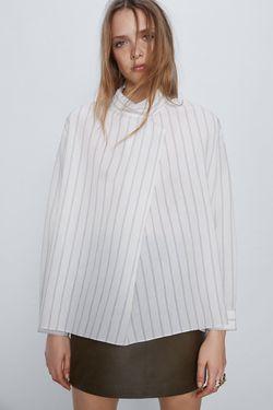 Блуза ZARA Слоновая кость 2338/467/080