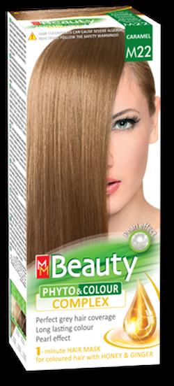 Vopsea p/u păr, SOLVEX MM Beauty, 125 ml., M22 - Caramel