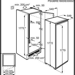 Встраиваемый морозильник Electrolux EUN2244AOW