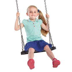 Детские резиновые качели на цепях XL