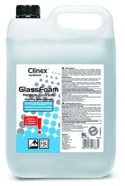 Clinex Glass Foam 5л стекла, зеркала, хрусталь