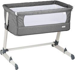 Co-sleeper 2 в 1 BabyGO Together Grey