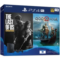 Consola SONY PlayStation 4 PRO 1TB + Fortnite Neo Versa Bundle + The Last of Us + God of War