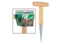 Conus plantator, maner de lemn