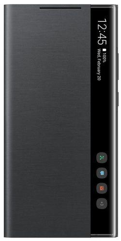 купить Чехол для моб.устройства Samsung EF-ZN985 Clear View Cover Black в Кишинёве