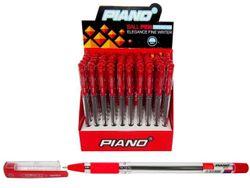 Ручка гелевая PT-111 soft ink 0.7mm, красная