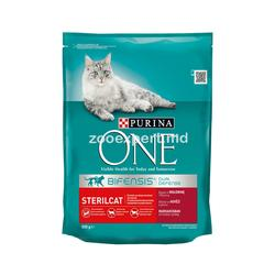 Purina One Steril Cat с говядиной 800 gr