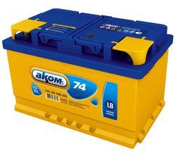 Baterie auto Akom 6СТ-74VL LB