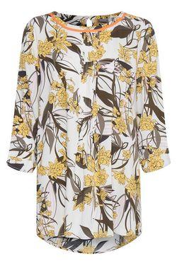 Блуза Fransa Белый с цветами 20605595