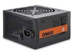 Блок питания ATX 650W Deepcool DN650, 80PLUS, Active PFC, бесшумный вентилятор 120 мм, розничная торговля