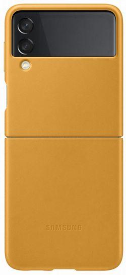 cumpără Husă pentru smartphone Samsung EF-VF711 Leather Cover B2 Mustard în Chișinău