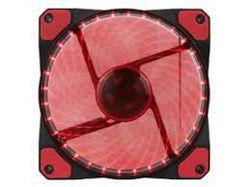 Вентилятор корпуса ПК GAMEMAX GMX-GF12R, 120 мм, 23,4 дБ, 46,5 куб. Футов в минуту, 1100 об / мин, гидравлический подшипник, красный светодиод, 3 и 4 контакта