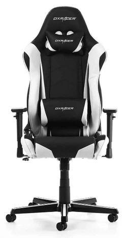 купить Gaming кресло DXRacer Racing GC-R0-NW-Z1, Black/White в Кишинёве