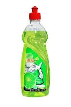 Detergent  lichid p/u vesela cu glicerina Lime 1L*