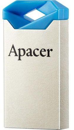 USB Flash Drive Apacer AH111 32Gb Silver-Blue (AP32GAH111U-1)