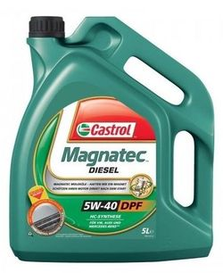 Моторное масло Castrol Magnatec Diesel DPF 5W-40 5L