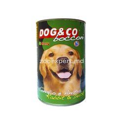 Dog & Co утка с кроликом 1250 gr