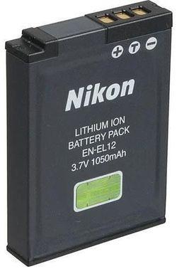 купить Аккумулятор для фото-видео Nikon EN-EL12 в Кишинёве