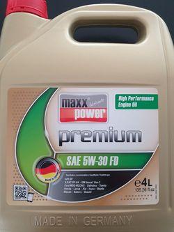 Maxxpower premium SAE 5W30 FD  4 L
