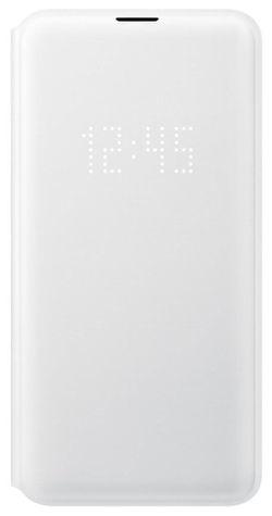 cumpără Husă telefon Samsung EF-NG970 LED View Cover S10e White în Chișinău