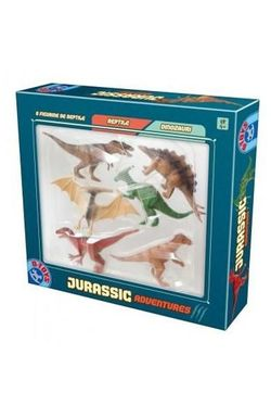 Game Jurassic Adventures set - 6 figuri de dinozauri, cod 41220