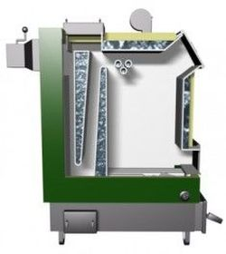 Твердотопливный котел Drew-Met MJ-3 24 kW 2.0