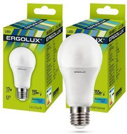 Bec LED Ergolux LED A60 17W E27 4500K 13180